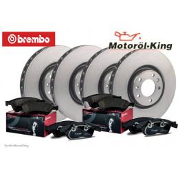Brembo Bremsscheiben und Beläge