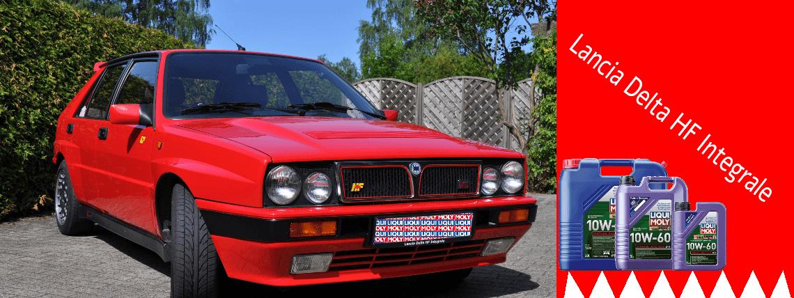 Lancia Delta HF Integrale 4wd  Liqui Moly 10W60 GT1  Motoröl-King
